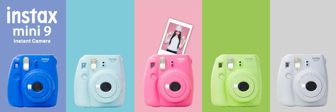 Notre avis sur l'appareil photo instantané Fujifilm Instax Mini 9