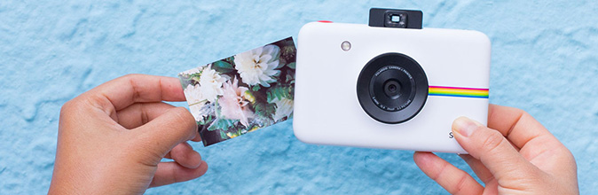 Notre test avis sur le Polaroid Snap : Un instantané avec une carte SD
