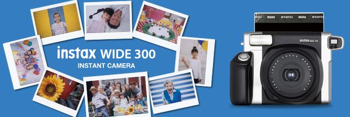 Notre avis sur l'instantané Fujifilm Instax Wide 300